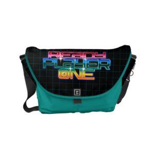 Ready Player One   Rainbow Logo Small Messenger Bag