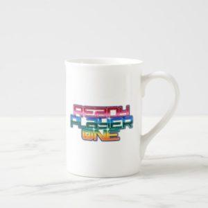 Ready Player One | Rainbow Logo Tea Cup