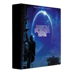 Ready Player One | Theatrical Art 3 Ring Binder