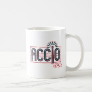 Red Art Deco ACCIO™ Spell Graphic Coffee Mug
