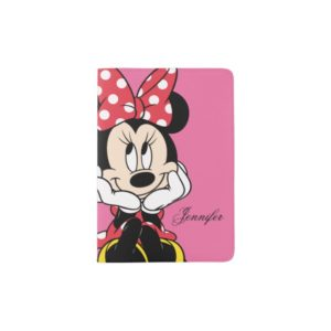 Red Minnie | Head in Hands - Add Your Name Passport Holder