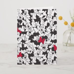Red Minnie | Red Bow Pattern Card