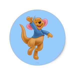 Roo 1 classic round sticker