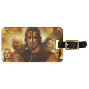 ROTK Aragorn Movie Poster Luggage Tag