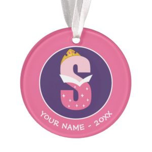 S is for Sleeping Beauty | Add Your Name Ornament