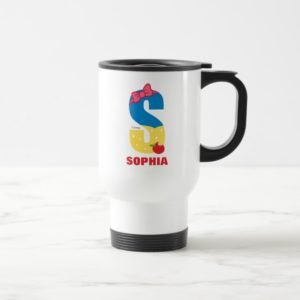 S is for Snow White | Add Your Name Travel Mug