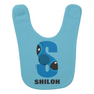 S is for Stitch | Add Your Name Baby Bib