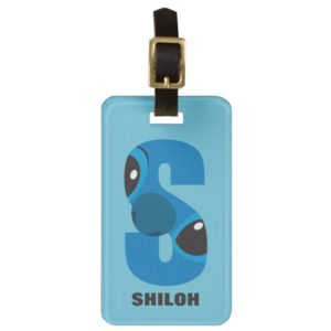 S is for Stitch | Add Your Name Luggage Tag