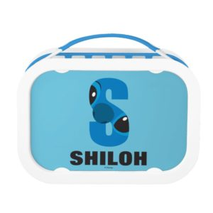 S is for Stitch   Add Your Name Lunch Box