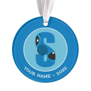 S is for Stitch | Add Your Name Ornament