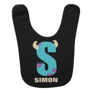 S is for Sulley   Add Your Name Bib