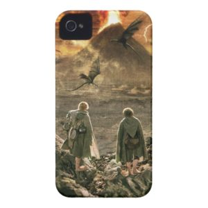 Sam and FRODO™ Approaching Mount Doom Case-Mate iPhone Case