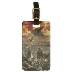 Sam and FRODO™ Approaching Mount Doom Luggage Tag