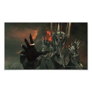 Sauron wth Hand Poster