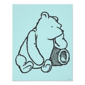 Sketch Winnie the Pooh 2 Poster