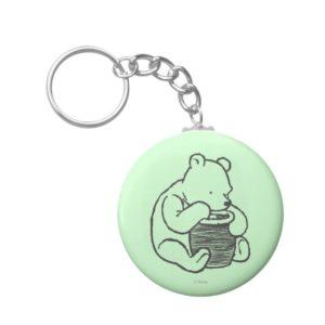 Sketch Winnie the Pooh 3 Keychain