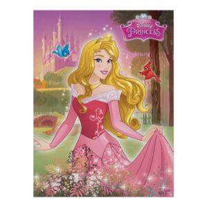 Sleeping Beauty Garden Poster