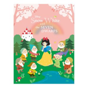 Snow White and the Seven Dwarfs Cartoon Postcard