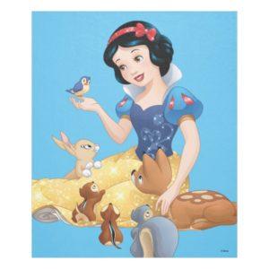 Snow White | Make Time For Buddies Fleece Blanket