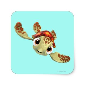 Squirt 1 square sticker