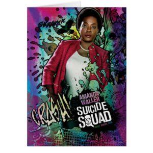 Suicide Squad | Amanda Waller Character Graffiti