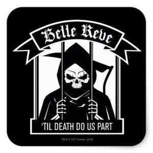 Suicide Squad | Belle Reve Reaper Graphic Square Sticker