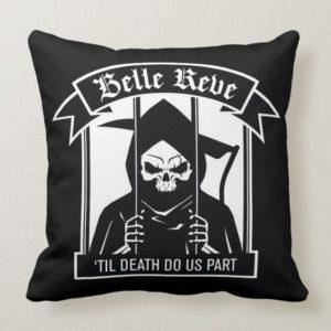 Suicide Squad | Belle Reve Reaper Graphic Throw Pillow