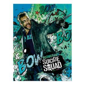 Suicide Squad | Boomerang Character Graffiti Postcard