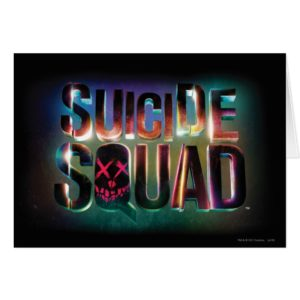 Suicide Squad | Colorful Glow Logo