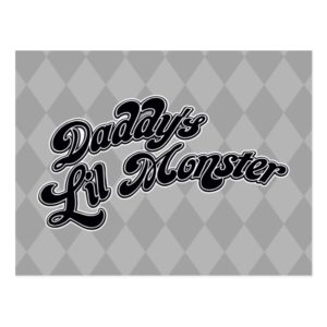 Suicide Squad | Daddy's Lil Monster Postcard