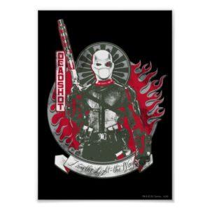 "Suicide Squad | Deadshot ""I am the Light"" Poster"