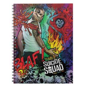 Suicide Squad   Diablo Character Graffiti Notebook