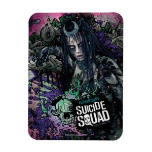 Suicide Squad   Enchantress Character Graffiti Magnet