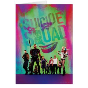 Suicide Squad | Green Joker & Squad Movie Poster