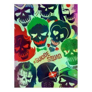 Suicide Squad   Group Toss Postcard