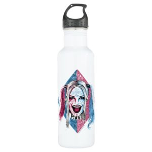 Suicide Squad | Harley Laugh Stainless Steel Water Bottle