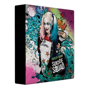 Suicide Squad | Harley Quinn Character Graffiti Binder