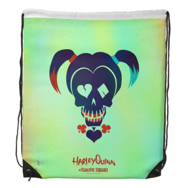 Suicide Squad | Harley Quinn Head Icon Drawstring Backpack