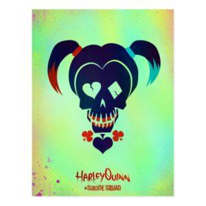 Suicide Squad   Harley Quinn Head Icon Postcard