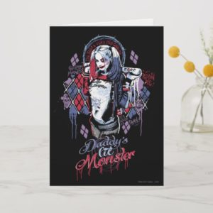 Suicide Squad | Harley Quinn Inked Graffiti Card