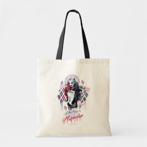 Suicide Squad | Harley Quinn Inked Graffiti Tote Bag
