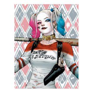 Suicide Squad   Harley Quinn Postcard