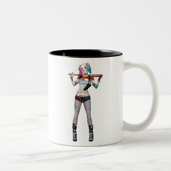 SquadHarley Coffee Quinn Two Mug Tone Suicide 435RLjA