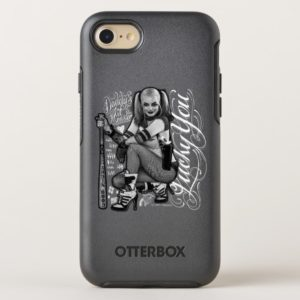 Suicide Squad | Harley Quinn Typography Photo OtterBox iPhone Case