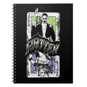 Suicide Squad   Joker & Harley Rotten Notebook