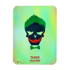 Suicide Squad | Joker Head Icon Magnet