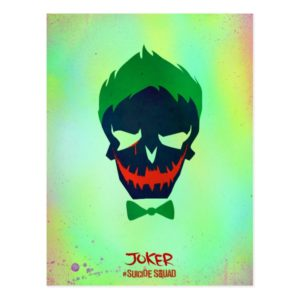 Suicide Squad | Joker Head Icon Postcard