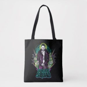 Suicide Squad | Joker Retro Rock Graphic Tote Bag