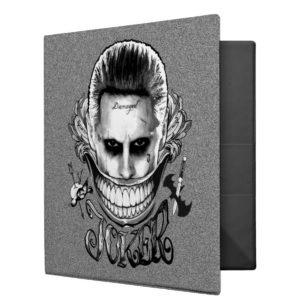 Suicide Squad | Joker Smile 3 Ring Binder
