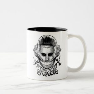 Suicide Squad | Joker Smile Two-Tone Coffee Mug